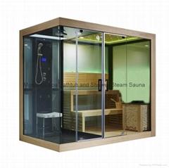 蒙娜麗莎新款高檔干濕兩用淋浴房蒸汽房桑拿房M-6032