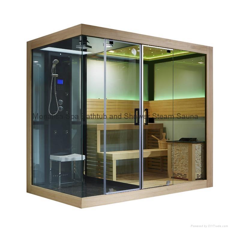 Monalisa Luxury New Steam Room And Sauna Room M 6032
