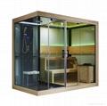 蒙娜麗莎新款高檔干濕兩用淋浴房蒸汽房桑拿房M-6032 2