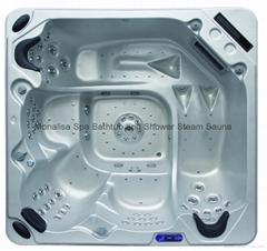 5人舒适型 户外SPA  亚克力按摩浴缸 水疗浴缸