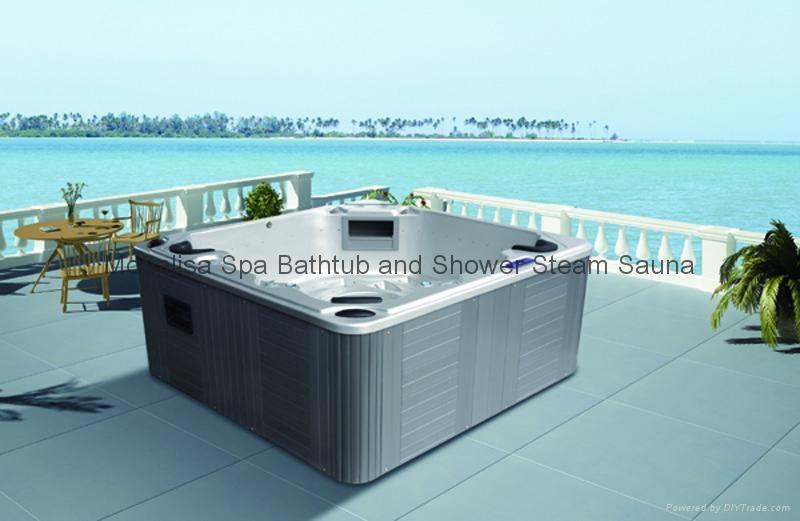 outdoor spa, whirlpool spa, hot tub, monalisa