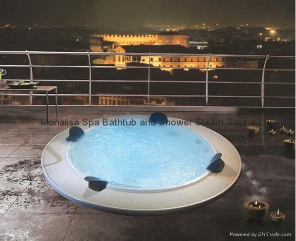 jacuzzi, outdoor spa, whirlpool spa, hot tub, monalisa