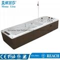 蒙娜麗莎泳池浴缸 多人按摩浴缸戶外浴缸spa泳池進口亞克力M-3373 4