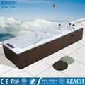 蒙娜麗莎泳池浴缸 多人按摩浴缸戶外浴缸spa泳池進口亞克力M-3373 1