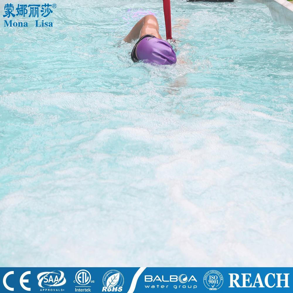 蒙娜麗莎泳池浴缸 多人按摩浴缸戶外浴缸spa泳池進口亞克力M-3373 7