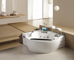 LUXURY MASSAGE BATHTUB WITH TV DVD ICEBOX