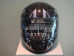 全罩式碳纖維安全帽