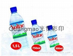 PVC shrink label water l
