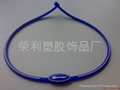 Anion silicone necklace