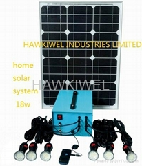 solar power system for household use