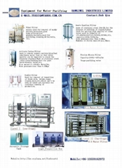 water purifying equipmen