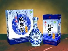 清宮祕方,專利產品---絞股藍養顏酒(35度)