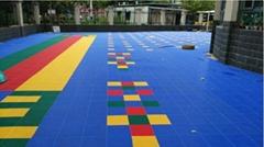 幼儿园室外环保防水防滑拼装地板
