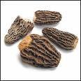 Indian Black Dried Morels Mushroom