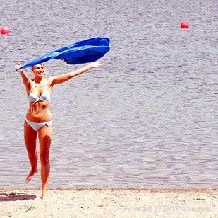 沙灘帳篷(可折疊) 1
