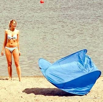 沙灘帳篷(可折疊) 2