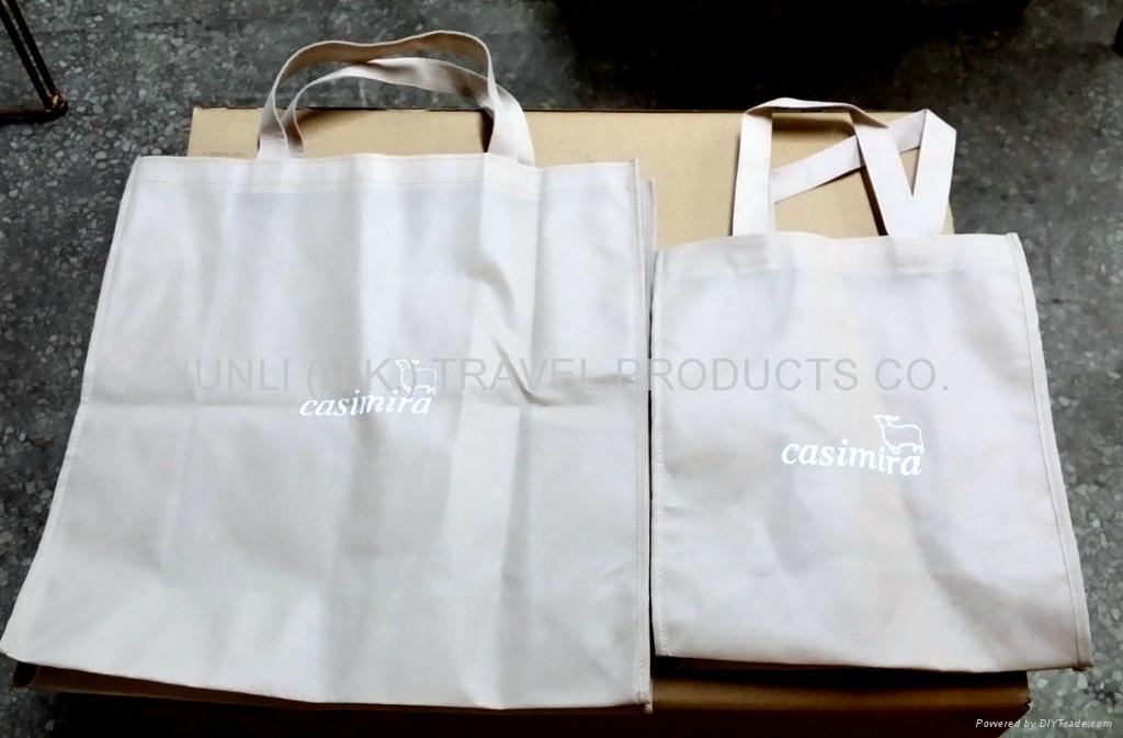 毛紡布環保購物袋 3