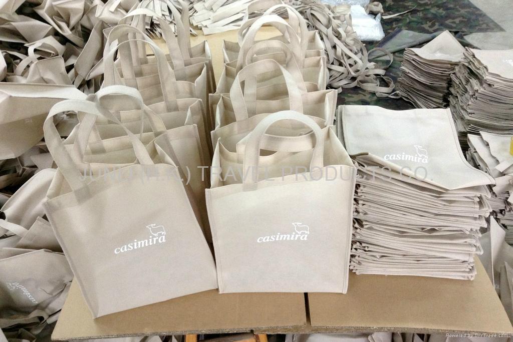 毛紡布環保購物袋 4