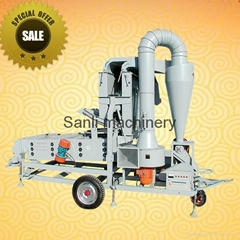 Compound seed processing machine