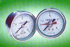 Y-60B,Y-100B系列不�袗�壓力表