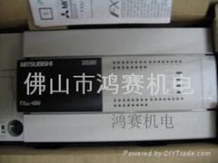 原裝全新三菱PLC FX3U-16MR-ES-A