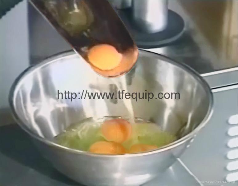 八成新日本自動切蛋殼機 4