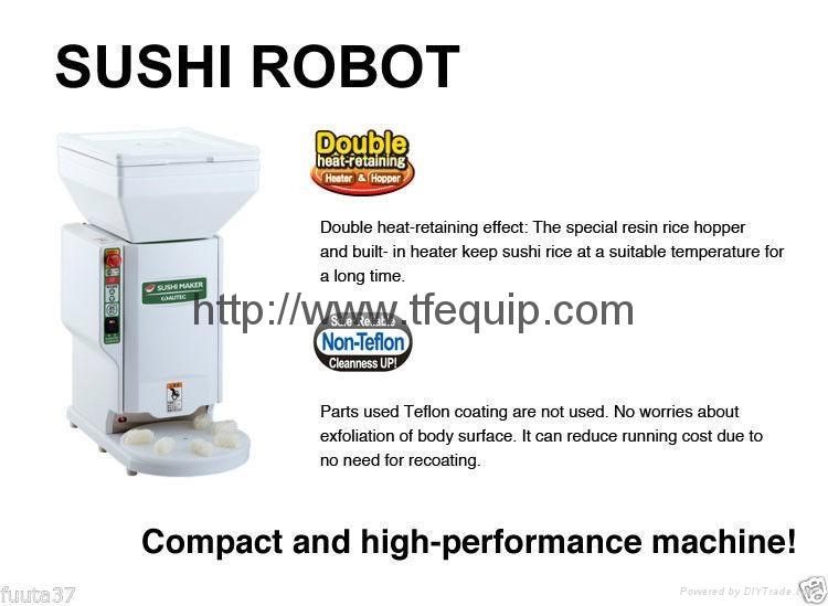 AUTEC ASM410 SUSHI RICE BALL MACHINE   1