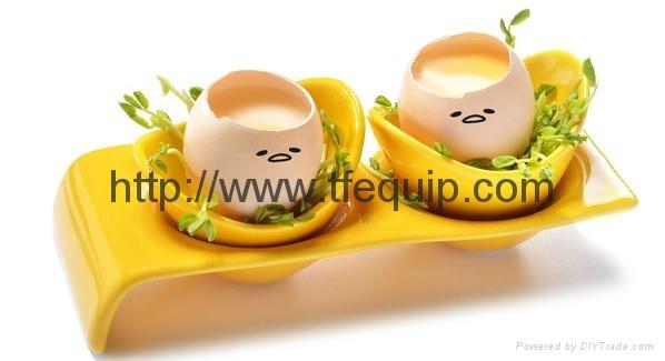 八九成新日本自動開蛋殼頂蓋機割卵機 5