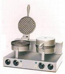 waffle baker 2 plate