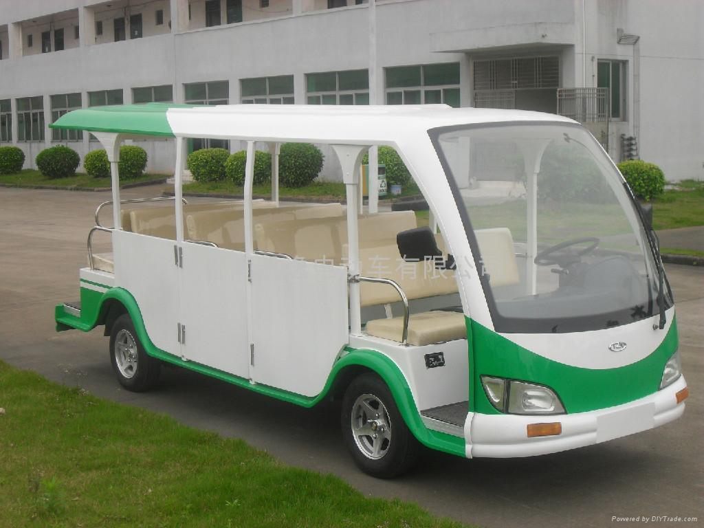 湖南电动游览车 2