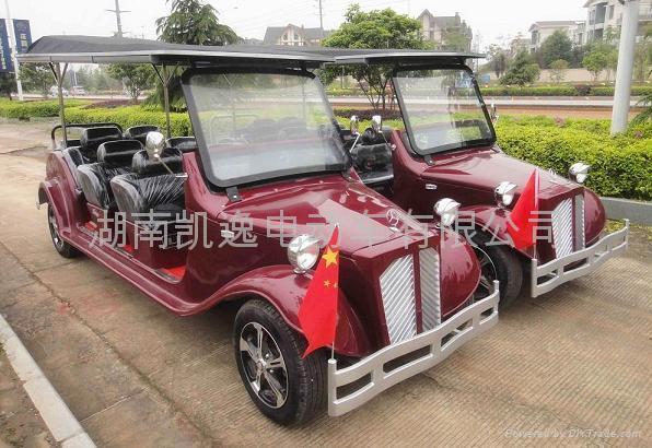 长沙电动老爷车游览车  3