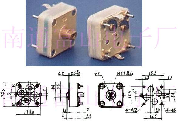 Variable Capacitor Cbm 114 224 China Manufacturer