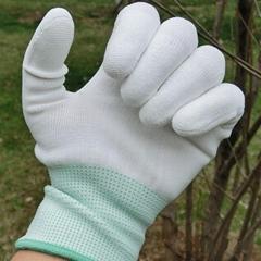 白尼龙手套无尘手套
