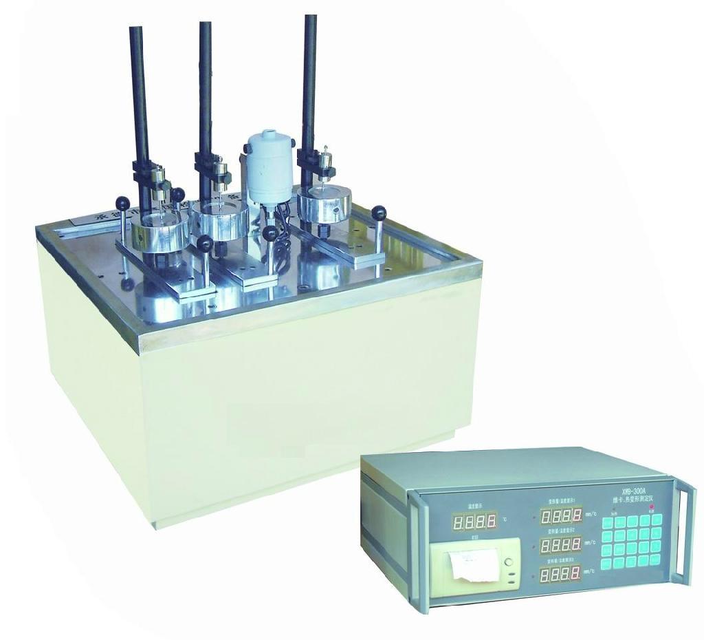 塑料热变形维卡软化点温度测定仪 1