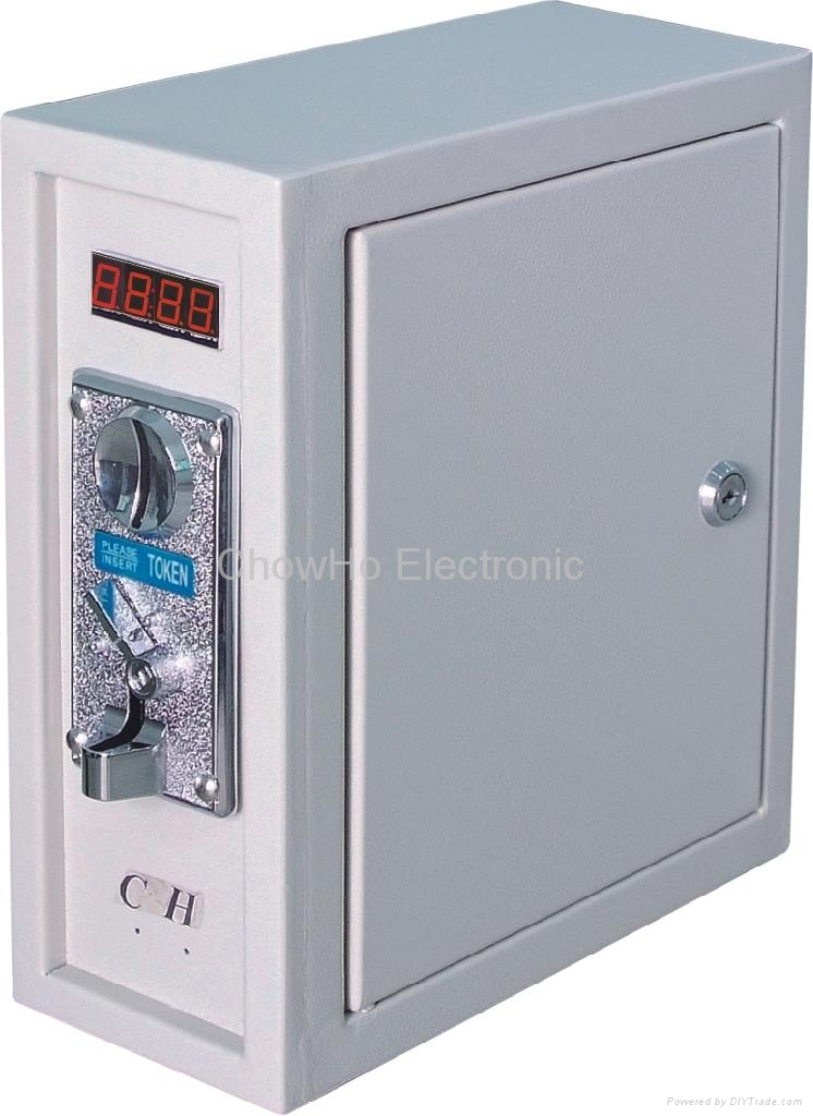 coin operated Timer Control Board Power Supply box 1