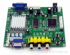 RGBS/CGA/EGA/YUV TO VGA converter for