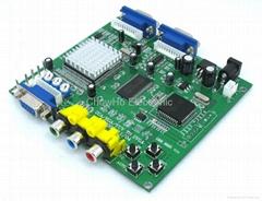 RGBS/CGA/EGA/YUV TO VGA