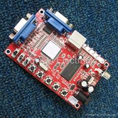 VGA to RGBS/CGA/EGA/AV/S