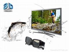 3D Active Shutter TV Glasses for Sharp Toshiba Mitsubishi