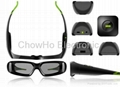 3D Active Shutter TV Glasses for Samsung LG monitor