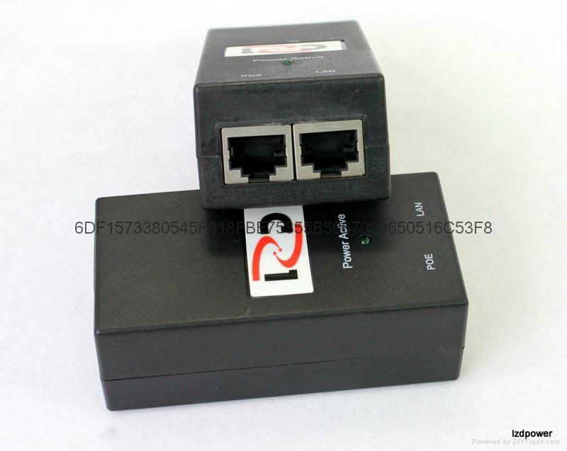 桌面式POE电源 24V 1A 2
