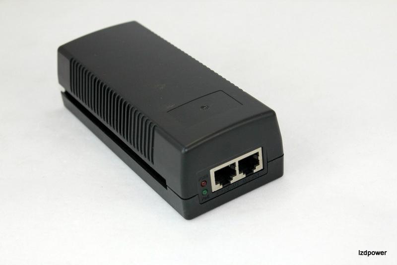 POE电源桌面式48V 1A  千兆标准版 1