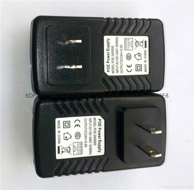 POE电源一体式24V 0.5A 欧规 1