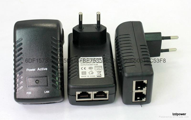 深圳POE 48V 0.5A   欧规 1