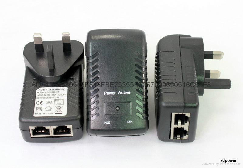 无线AP电源 48V 0.5A   英规 2