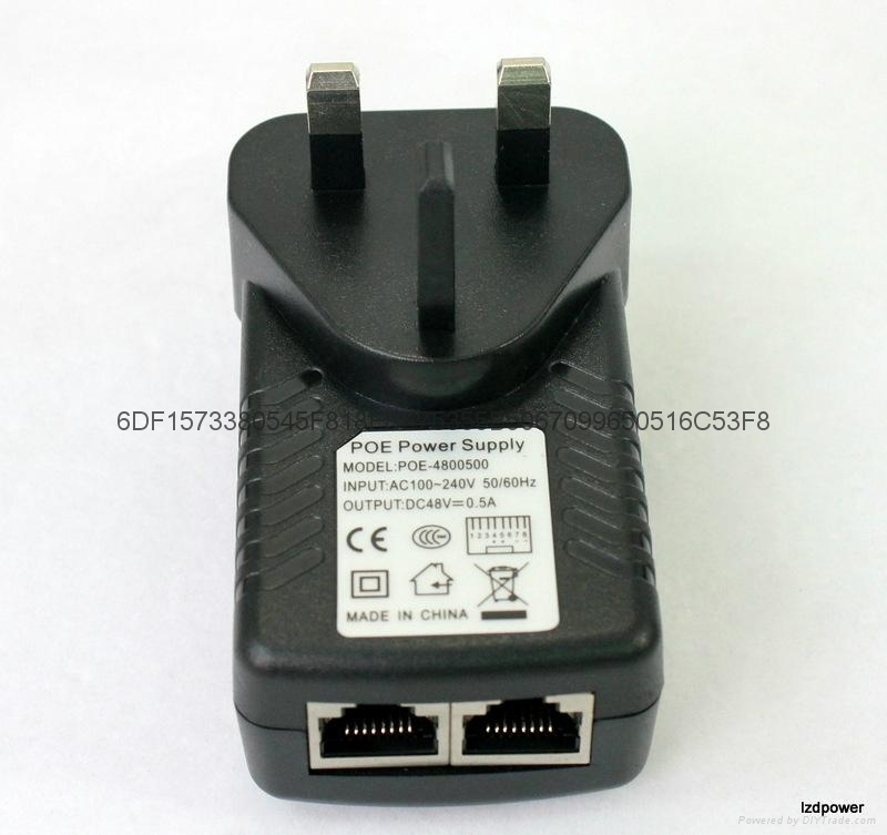 无线AP电源 48V 0.5A   英规 1