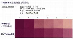 Teban ES conc 尼龙彃性织带均染剂 高浓产品