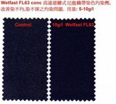 Wetfast FL63 conc 尼龍織帶染色滲透均染劑