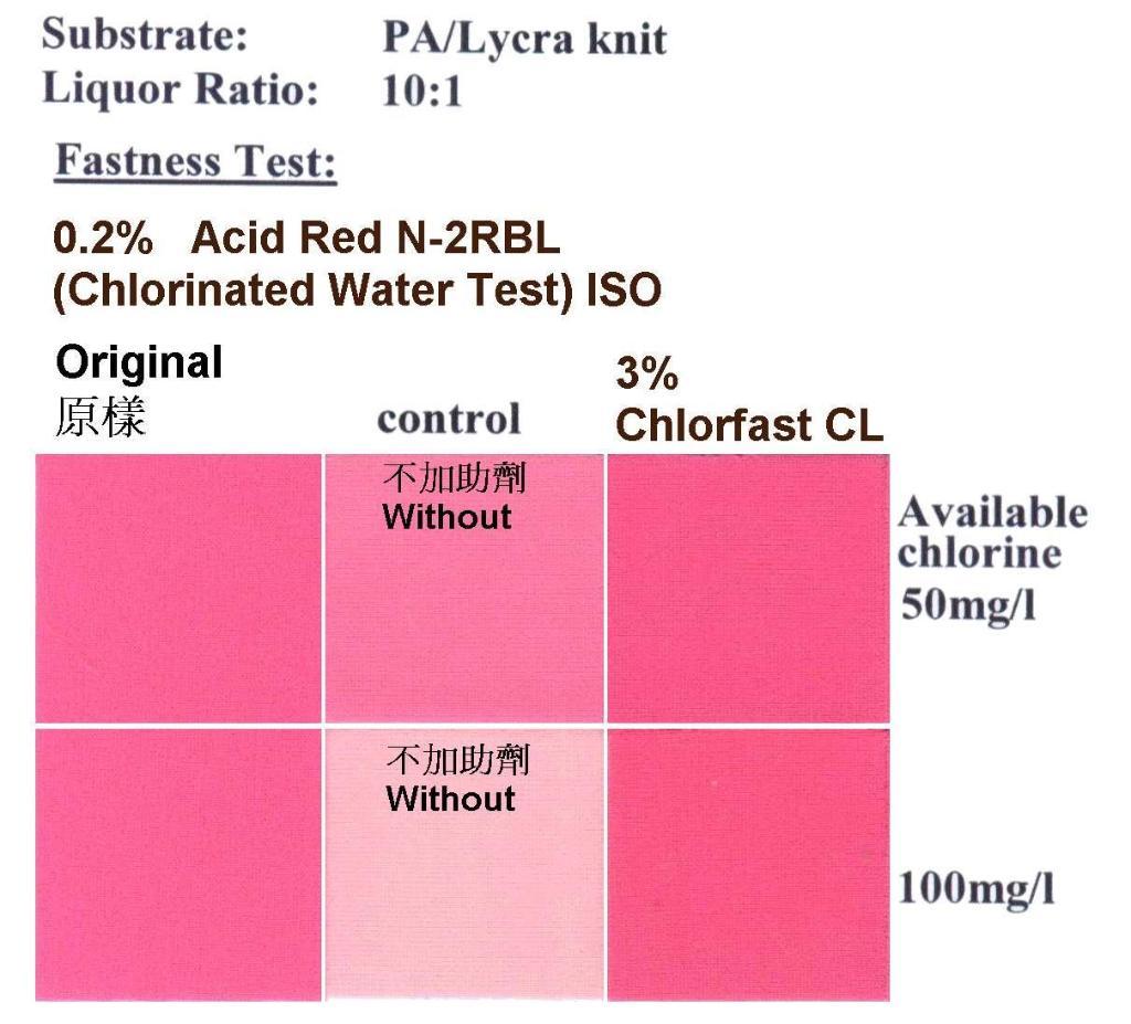 尼龍耐氯水固色劑 Chlorfast CL 1