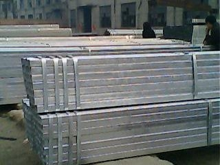 galvanized square pipe / GI square pipe